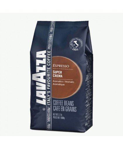 Кофе Lavazza Super Crema 1 кг зерна