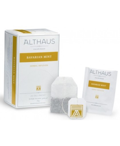 Чай Althaus Bavarian Mint 20 шт