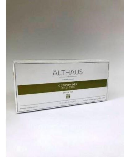 Чай Althaus Gunpowder Zhu Cha 20 шт